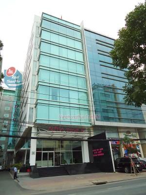 Màn rèm văn phòng Alpha Tower Nguyến Đình Chiểu Quận 3 TPHCM