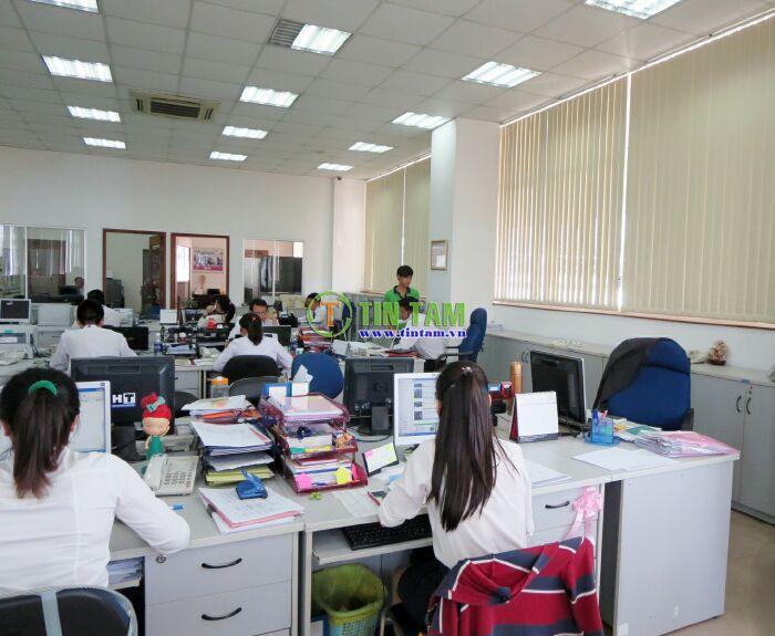 màn sáo văn phòng chống nắng tphcm