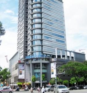 Màn rèm sáo gỗ văn phòng Tòa nhà Saigon Center Quận 1 tphcm