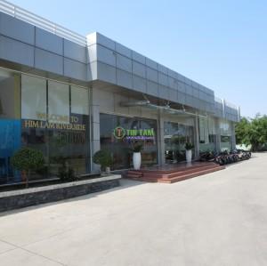 Màn rèm cửa, rèm văn phòng, giấy dán tường HimLam Riverside Nguyễn Thị Thập Quận 7