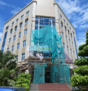 Màn sáo văn phòng, rèm cửa tự động Ngân hàng AGRIBANK Võ Văn Tần – Long An