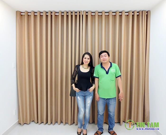rèm cửa đẹp diễn viên Minh Thu