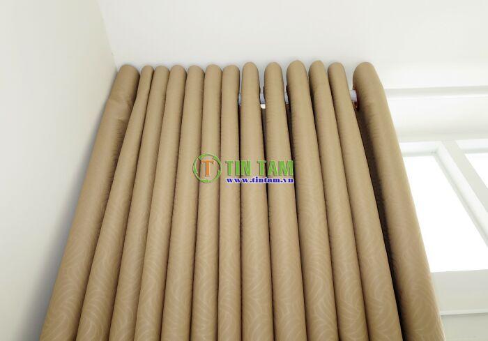 mẫu màn cửa đẹp với chất liệu gấm cao cấp