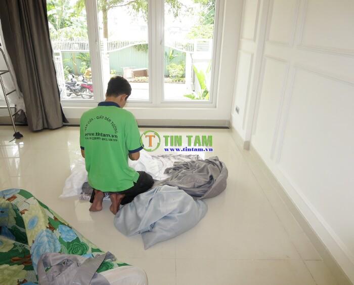 thi công rèm vải chống nắng tphcm