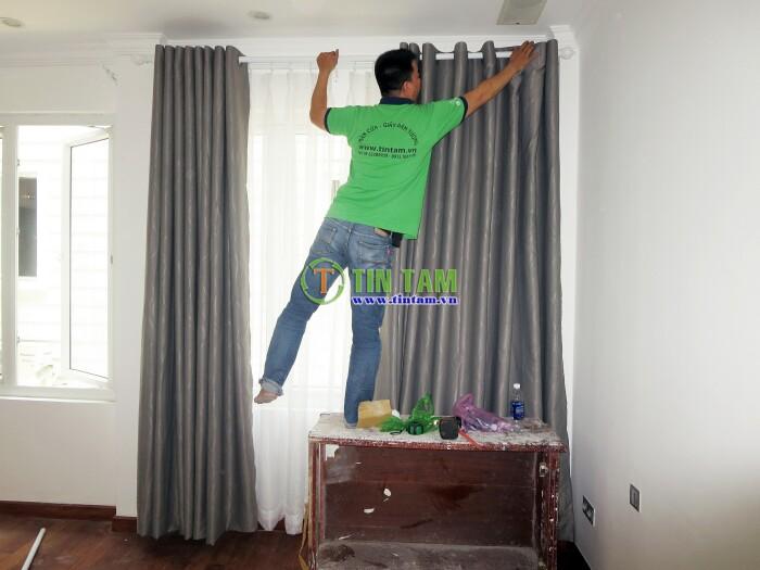 thi công màn rèm cửa đẹp cho căn hộ cao cấp