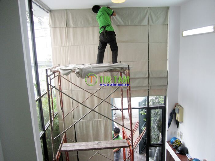 thi công màn cửa tự động cao cap tphcm