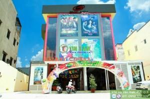 Giấy dán tường đẹp – Cinema Đế Chế tỉnh Bình Dương