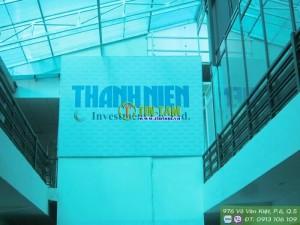 Màn sáo văn phòng – Báo Thanh Niên đường Nguyễn Đình Chiểu Quận 3