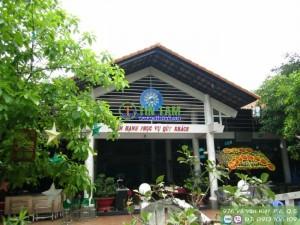 Màn sáo tre – Nhà hàng Những Người Bạn Gò Vấp TPHCM