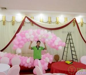 Phông màn rèm sân khấu tiệc cưới