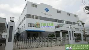 Rèm sáo nhôm, rèm văn phòng-  Công Ty Tech-Link đường Huỳnh Tấn Phát, quận 7 TPHCM