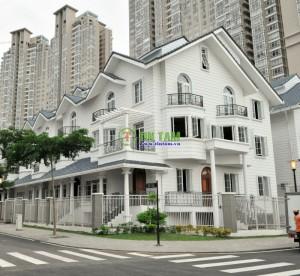 Màn cửa cao cấp nhà chị Thủy – Vila Sài Gòn Pearl