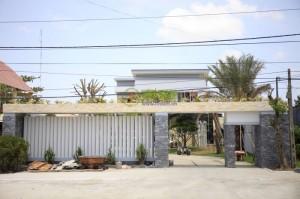 Màn sáo gỗ – Biệt thự tỉnh Trà Vinh