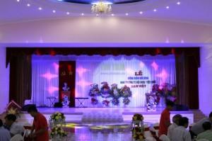 Rèm Sân Khấu – Trung Tâm Hội Nghị-Tiệc Cưới Nam Việt tỉnh Bình Dương