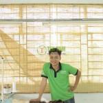 Màn sáo tre – Công Ty TNHH TN Sài Gòn Quận 9