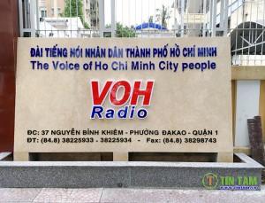 Rèm màn sân khấu, hội trường Đài phát thanh nhân dân TPHCM