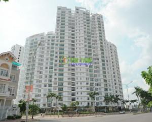 Giấy dán tường căn hộ chị Thủy – Him Lam Riverside Quận 7