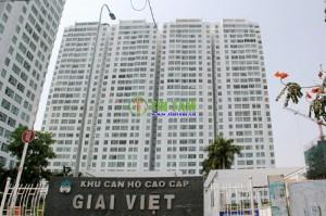 Giấy dán tường, tranh dán tường cc Giai Việt Quận 8 – căn hộ Bác sĩ Huy