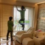 Rèm sáo gỗ căn hộ Hoàng Anh Thanh Bình – Quận 7 (Căn hộ Chú Phúc)