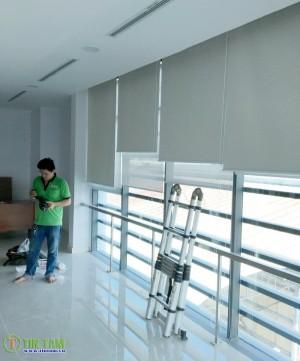 Màn sáo văn phòng, màn cuộn in tranh, rèm chống nắng- Thế Giới Di Động, Quận 5 TPHCM